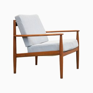 Mid-Century Armchair by Grete Jalk for France & Søn, 1960s