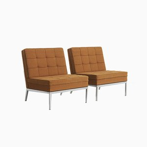 Sessel von Florence Knoll Bassett für Knoll Inc. / Knoll International, USA, 1960er, 2er Set
