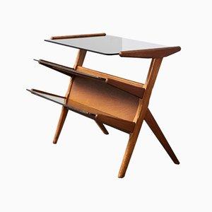 Dutch Modernist Side Table, 1940s