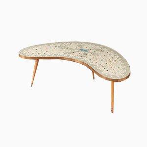 Table Basse en Forme de Haricot, 1950s