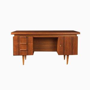Walnuss Furnier Schreibtisch, 1960er