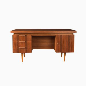 Walnut Veneer Desk, 1960s