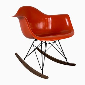 Rocking Chair RAR Mid-Century par Charles & Ray Eames pour Herman Miller, 1950s
