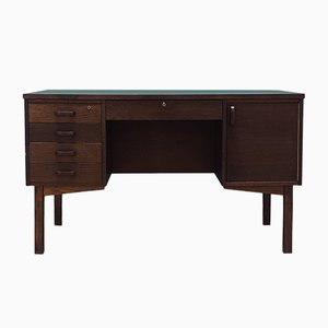 Mid-Century Oak Desk