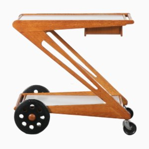 Mid-Century Model PE03 Trolley by Cees Braakman for Pastoe, 1950s
