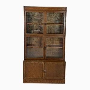 Glass and Mahogany Cabinet from Esavian, 1950s
