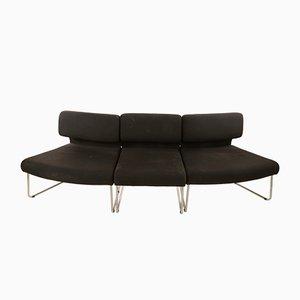 Modulares Halbkreis Sofa, Italien, 1960er, 3er Set