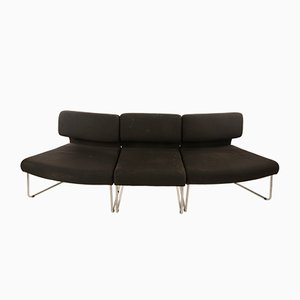 Sectional Semi Circle Sofa, Italy, 1960s, Set of 3