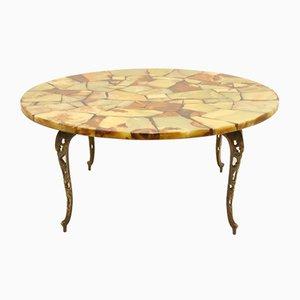 Table Basse Époxy Marqueté, 1920s