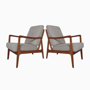 Modell FD 119 Armlehnstuhl aus Teak von Ole Wanscher für France & Søn / France & Daverkosen, 1960er