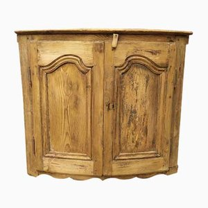 Antique Louis XV Corner Cabinet
