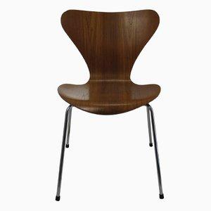 Modell 3107 Stuhl von Arne Jacobsen für Fritz Hansen, 1981