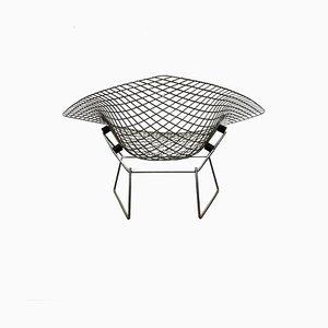 Großer Mid-Century Diamond Chair aus Chrom von Harry Bertoia, 1950er