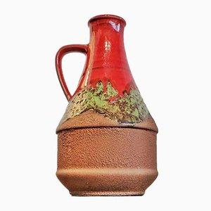 Mid-Century Fat Lava Nr. 320/25 Vase von Dümler & Breiden