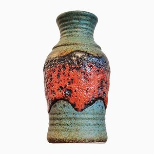 Fat Lava Nr. 630/20 Vase from Bay Keramik, 1970s