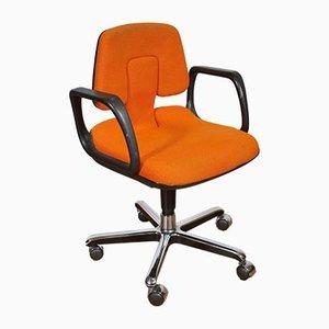 Chaise Pivotante Orange Vintage par Wolfgang Mueller Deisig pour Vitra, 1970s