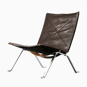Mid-Century Model PK22 Lounge Chair by Poul Kjærholm for E. Kold Christensen