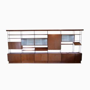 Vintage Teak Shelving by Ernst Hilker for Omnia, 1960s