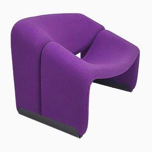 Lila F598 Groovy M-Chair von Pierre Paulin für Artifort, 1970er