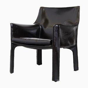 Cab 414 Chair by Mario Bellini for Cassina, 1980s
