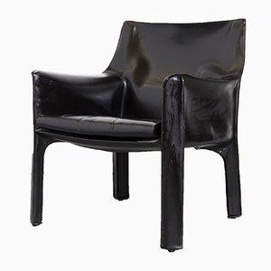 Cab 414 Stuhl von Mario Bellini für Cassina, 1980er