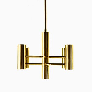 Vintage Chandelier by Gaetano Sciolari for Sciolari, 1960s