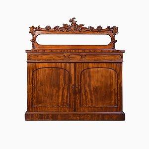 Antiker William IV Chiffonier aus Mahagoni