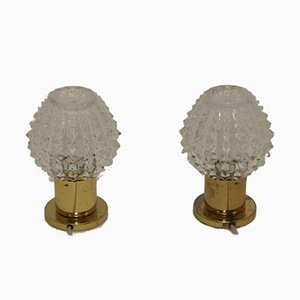 Vintage Table Lamps by Lustry Kamenicky, Set of 2