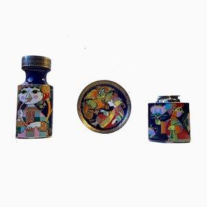Set Artist Line en Porcelaine par Bjørn Wiinblad pour Rosenthal, 1970s, Set de 3