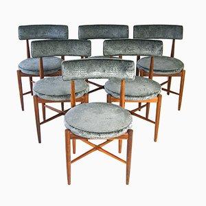 Chaises de Salon par Ib Kofod Larsen pour G-Plan, 1960s, Set de 6