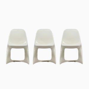 Vintage Casalino Plastikstühle von Alexander Begge für Casala, 3er Set