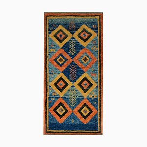 Vintage Middle Eastern Vibrant Woolen Carpet