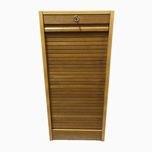 Oak Curtain Cabinet, 1970s