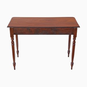 Victorian Mahogany Writing Desk, 1880s