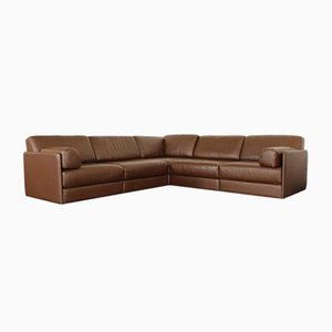 Leather DS 76 Sofa Daybed by de Sede, Set of 5