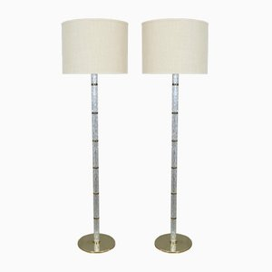 Vintage Floor Lamps from Kaiser Idell / Kaiser Leuchten, Set of 2