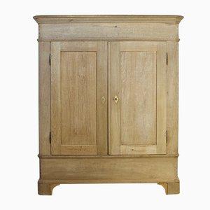 Antique Bleached Oak Wardrobe