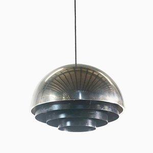 Dänische Milieu Deckenlampe von Johannes Hammerborg für Fog & Mørup, 1970er