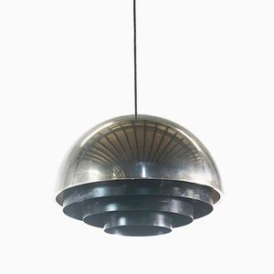 Danish Milieu Ceiling Lamp by Johannes Hammerborg for Fog & Mørup, 1970s