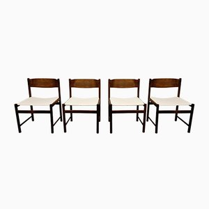 Vintage Dining Chairs from Pastoe, 1960s, Set of 4