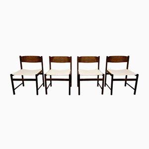 Vintage Esszimmerstühle von Pastoe, 1960er, 4er Set