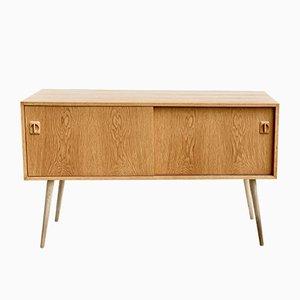 Danish Oak Hi-Fi Cabinet, 1960s