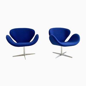 Fauteuils Modèle Swan par Arne Jacobsen, 1959, Set de 2