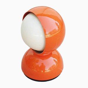 Lampe de Bureau Eclisse Mid-Century Orange par Vico Magistretti pour Artemide, Italie, 1960s