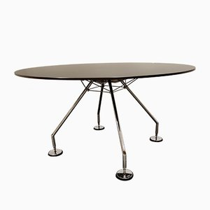 Round Dining Table by Norman Foster for Tecno, 1990s
