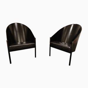 Vintage Pratfall Sessel von Philippe Starck für Driade, 1980er, 2er Set