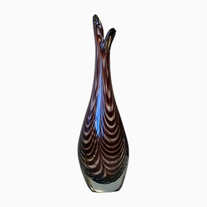 Art Glass Duckling Vase by Per Lütken for Kastrup & Holmegaard, 1950s