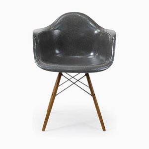 Vintage Elephant Gray Armchair by Charles & Ray Eames for Herman Miller, 1970s