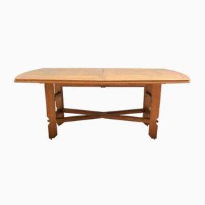 Large Dining Table by Guillerme et Chambron for Votre Maison, 1960s