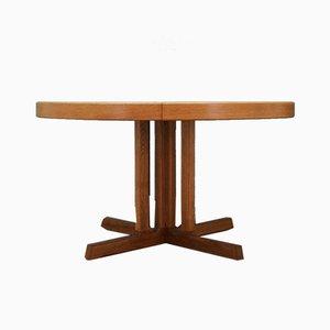 Mid-Century Danish Ash Veneer Dining Table by Johannes Andersen, 1970s
